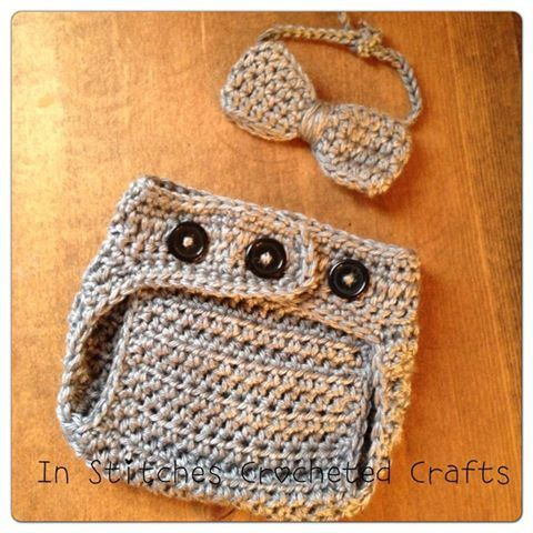 The Little Dude Set Crochet Photography by InStitchesCrocheted, $23.50