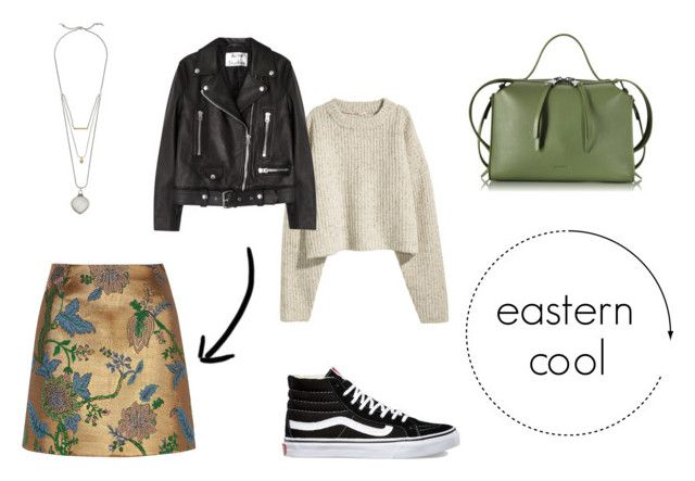 eastern cool by danesmit on Polyvore featuring Acne Studios, River Island, Vans, Jil Sander and Lucky Brand