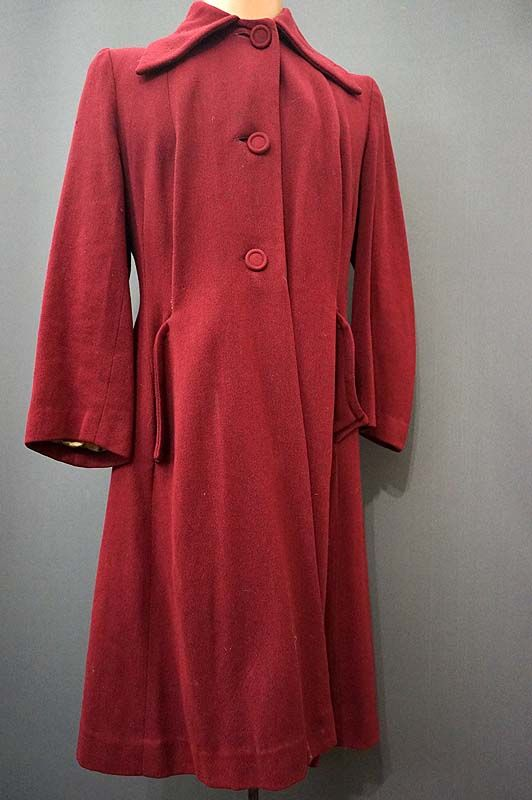 1950's woollen coat for sale in the Mabs Collection