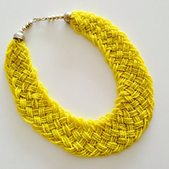 Summer Choker necklace/bib necklace/wedding jewelry/statement by sudarium, $22.00