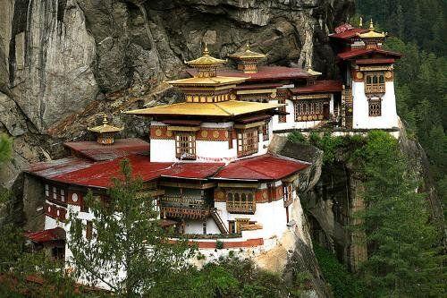 The Tiger's Nest Monastery near Paro, Bhutan (Photo: Frommers.com Community)