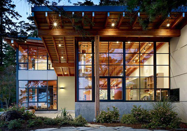 cabins snow architecture | elegant modern cabin design ideas | Architecture, Interior Designs ... interiormagz.com