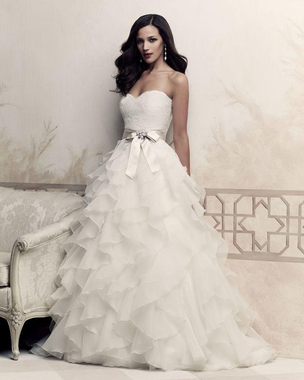 77 Best A-Line Wedding Dresses Images On Pinterest