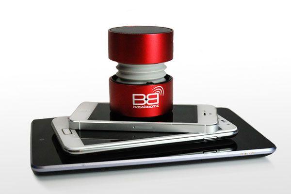 BassBoomz Vermelha, coluna portátil bluetooth | 44,75€