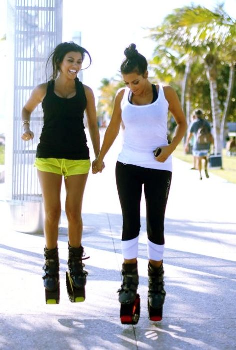 Kangoo Jumps, burn 1000 cal in one hour just by having fun