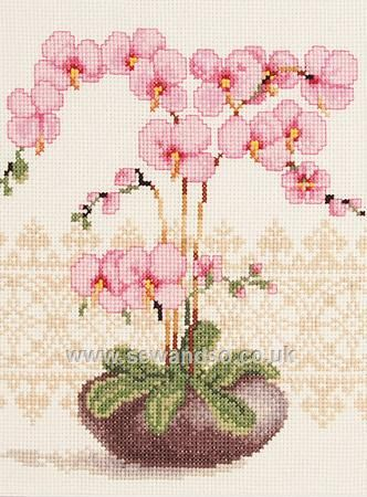 Shop online for Pink Orchid Cross Stitch Kit at sewandso.co.uk. Browse our great…