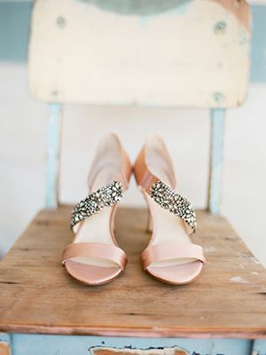 Pink Wedding Shoe Inspiration