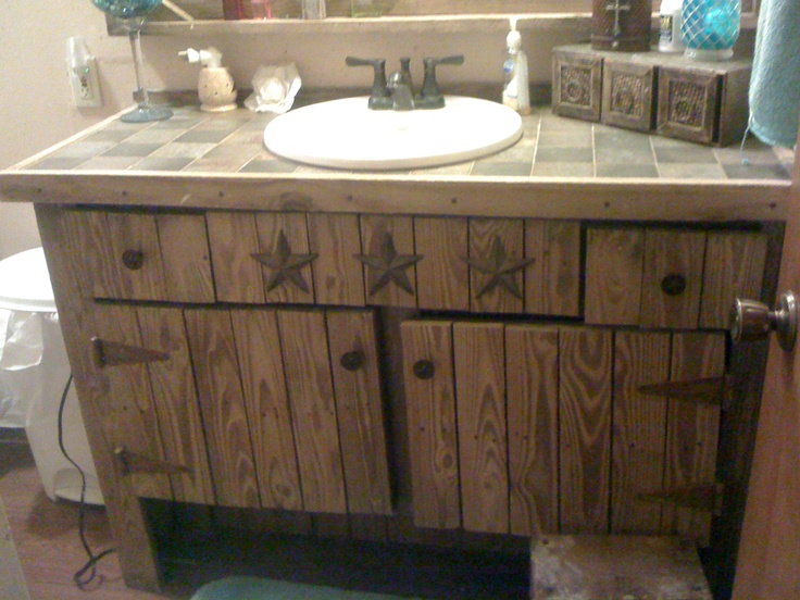 Barn Style Sink : ... Barn bathroom on Pinterest Rustic vanity, Vanities and Barn wood