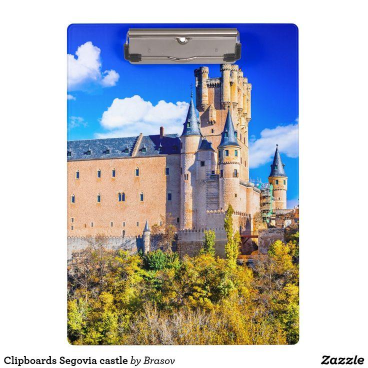 Clipboards Segovia castle