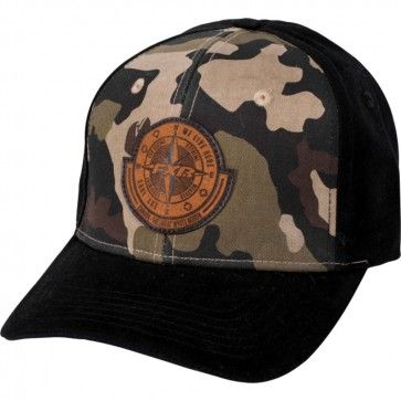 FXR WLH We Live Here Urban Camo Mens Flexfit Guys Caps Curved Bill Hats