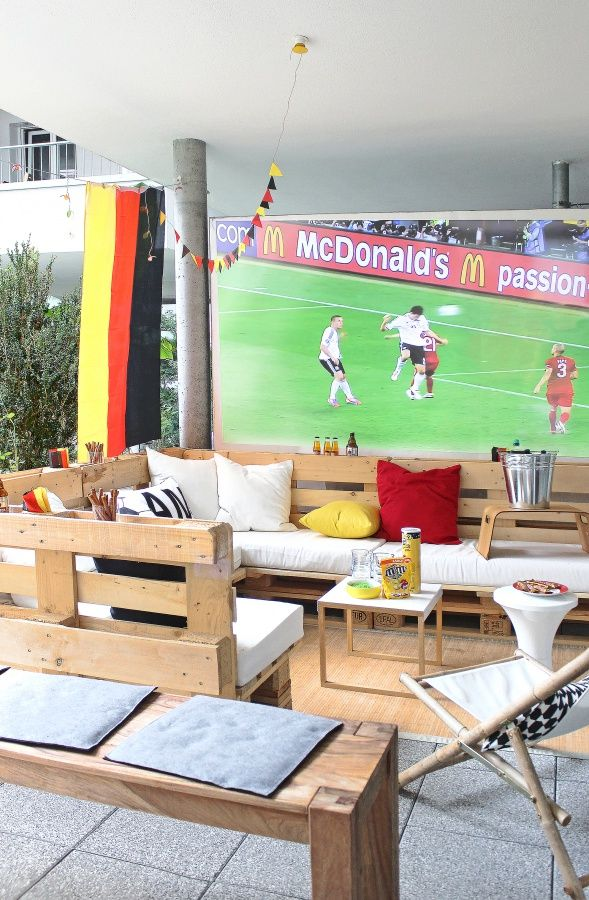 150 besten mottoparty fussball wm em bilder auf pinterest fu ball party fu ball kuchen und. Black Bedroom Furniture Sets. Home Design Ideas