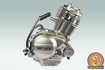 YBF139 motorcycle engine