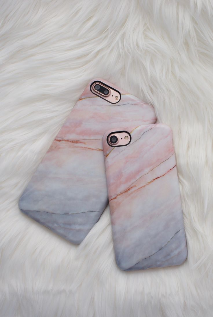 Marble Case in Smoked Coral for iPhone 7 and iPhone 7 Plus  from Elemental Cases