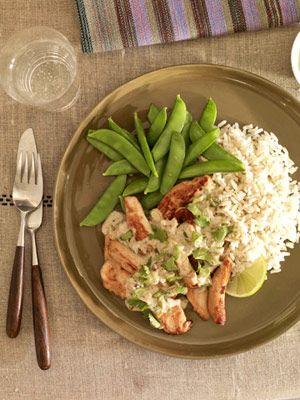 Our Best Quick & Easy Dinners: Thai Chicken and Rice (via Parents.com)