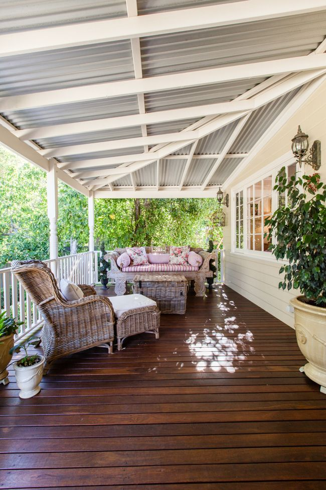 veranda. a beautiful Woodbridge weatherboard cottage renovation