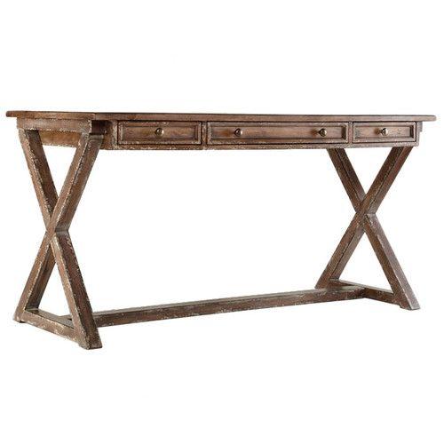Wayfair - Hooker Furniture Melange Bennett X-Base Writing Desk