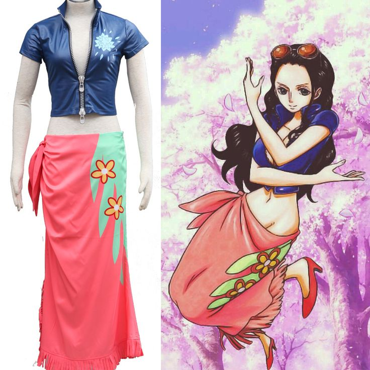 One Piece Nico Robin Two Years Later Cosplay Costume