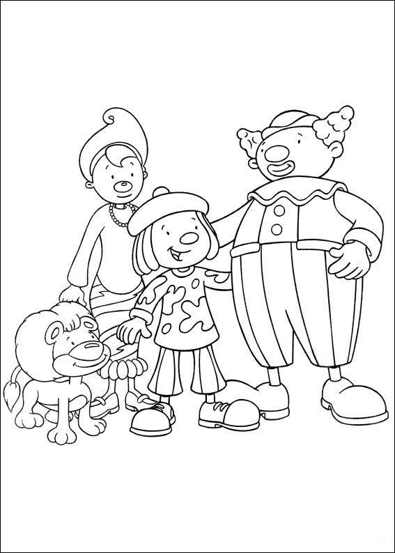 jojos zirkus 39 ausmalbilder für kinder. malvorlagen zum