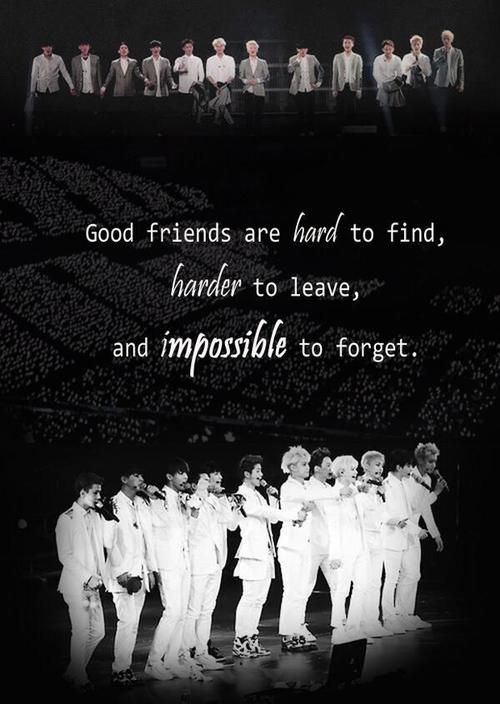 WE ARE ONE!! WE ARE EXO!!