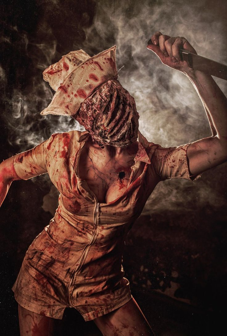 Nurse from Silent Hill by Elena-NeriumOleander.deviantart.com on @deviantART