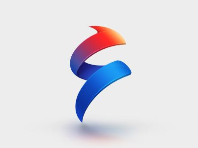 Fortune Step #logo #design #inspiration