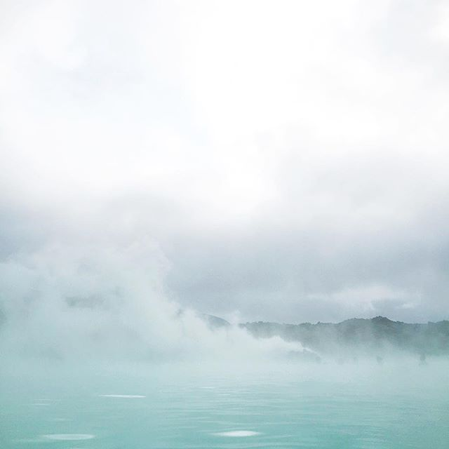 a magical corner of the popular blue lagoon /