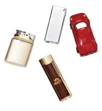 1. My lighters I've been collecting lighters since I was a kid. I have about 80 of them now (just to look at—I don't smoke). My favourite is from WWII. I love thinking about where it's been, whose it was and what happened to him.