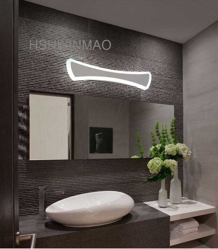 Modern LED Mirror Lights 40cm~120cm wall lamp Bathroom bedroom headboard wall sconce lampe deco Anti-fog and waterproof