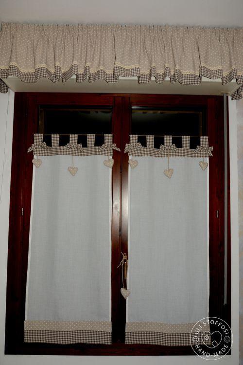 Oltre 25 fantastiche idee su tende per finestra su - Idee per tende finestra bagno ...