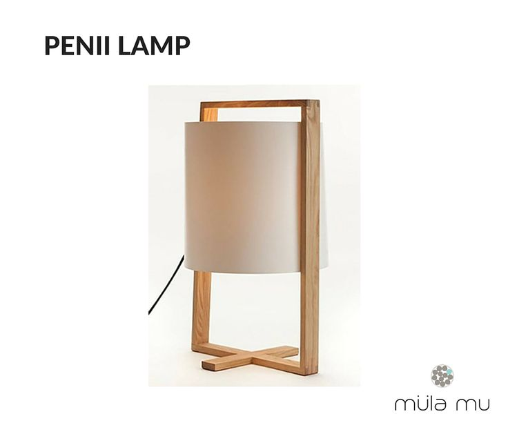 The PENII LAMP is a unique table lamp that will be sure to invoke oohs and ahhs from visitors. Its unconventional design gives one the illusion that the lamp shade is floating precariously within a border.  Dimension: 275 x 275 x 460 mm  *Price does not include light bulbs. http://www.mulamu.com/product/penii-lamp/