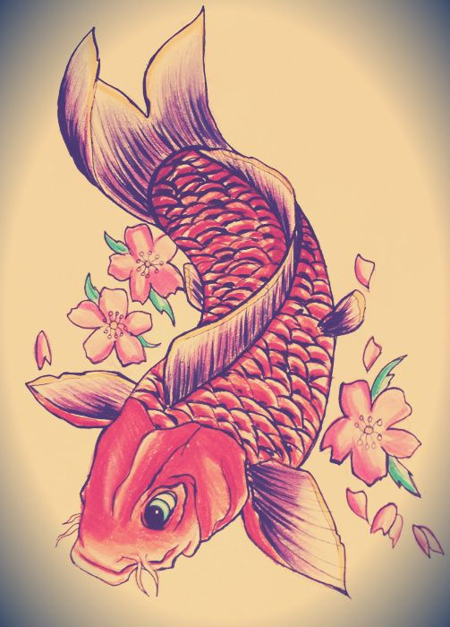 and cherry blossom! : ) Made by copic ciaos and colorpencils.