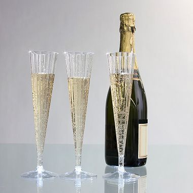 party essentials plastic champagne flutes 5 oz 120 ct