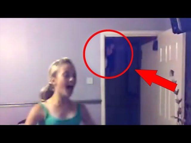 FENÔMENOS SOBRENATURAIS CAPTURADOS POR CÂMERAS   - Real Ghosts Videos Caught On CCTV Camera!