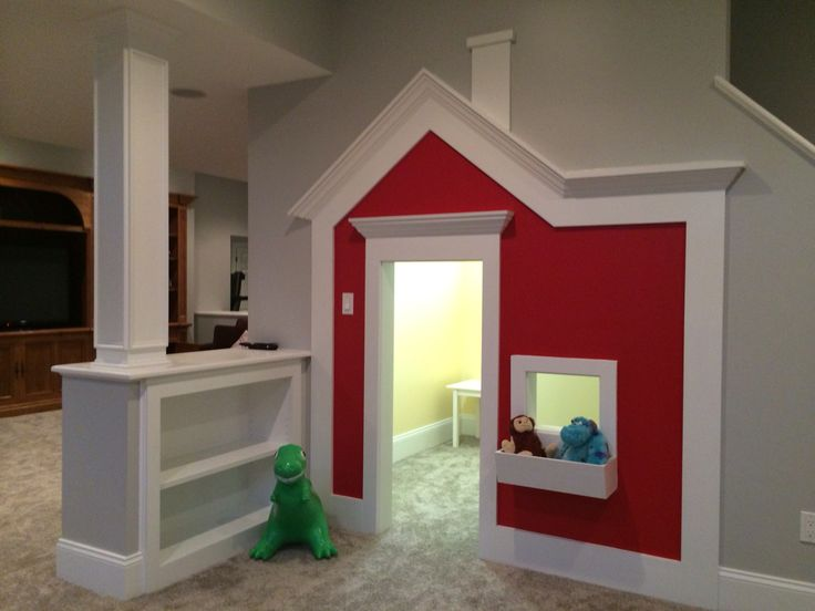 Under stair playhouse