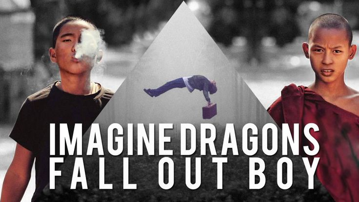 Imagine Dragons ft. Fall Out Boy - Radioactive in The Dark. this is amazing.