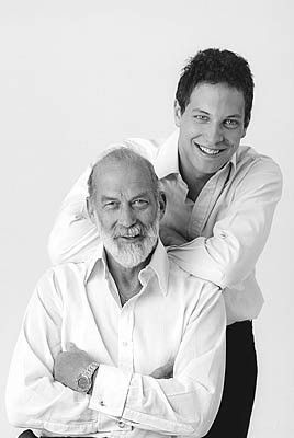 HRH Prince Michael and son Lord Frederick (Freddie) Windsor. http://www.princessmichael.org.uk