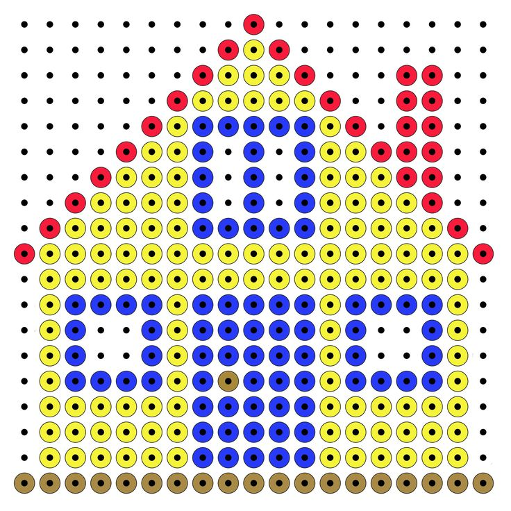 House  - perler beads