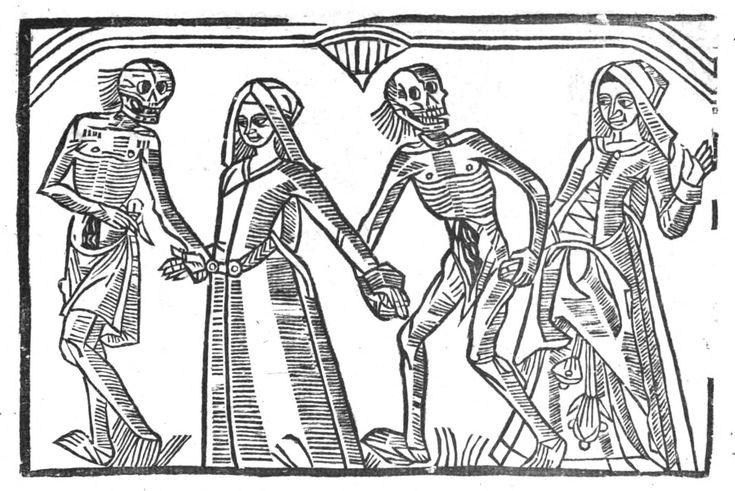 La grande danse macabre (de Troyes) des hommes et des femmes, 1862