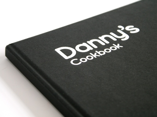 Dannys Cookbook by Lawrence Hansford, via Behance