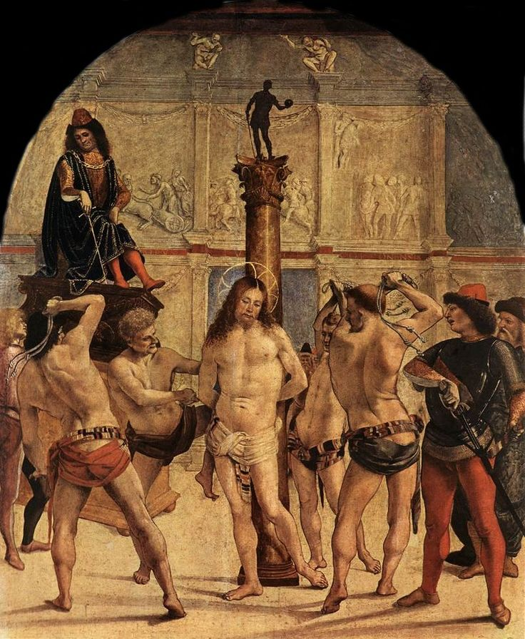 2nd Mystery - The Scourging at the Pillar