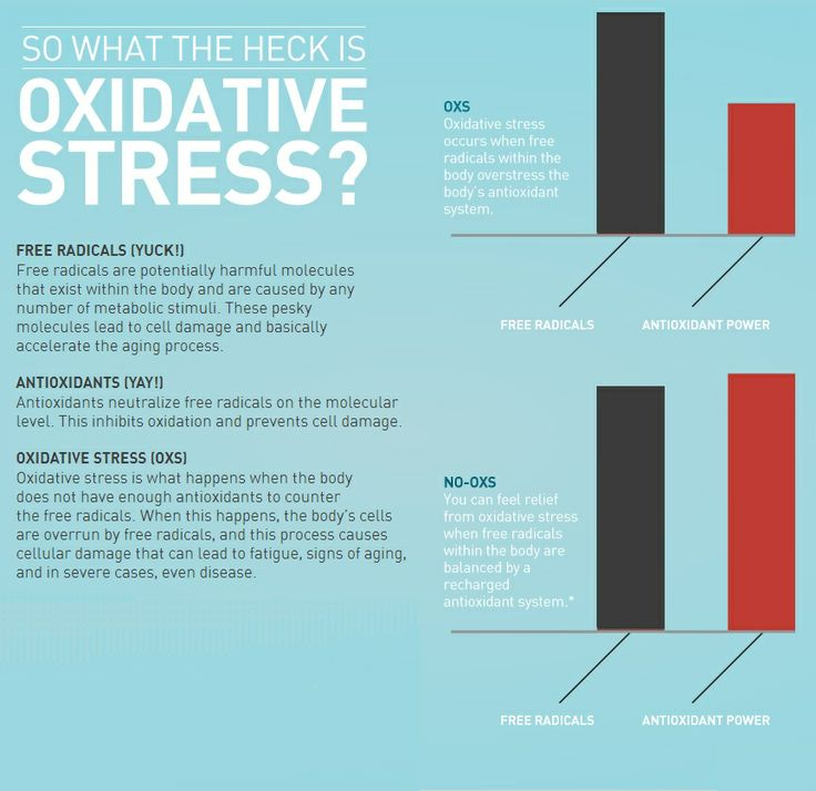 What does oxidative stress mean http://oxidativestressfree.org/