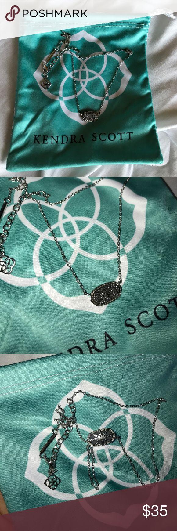 Kendra Scott Druzy Neckless Perfect condition!! Kendra Scott Jewelry Necklaces