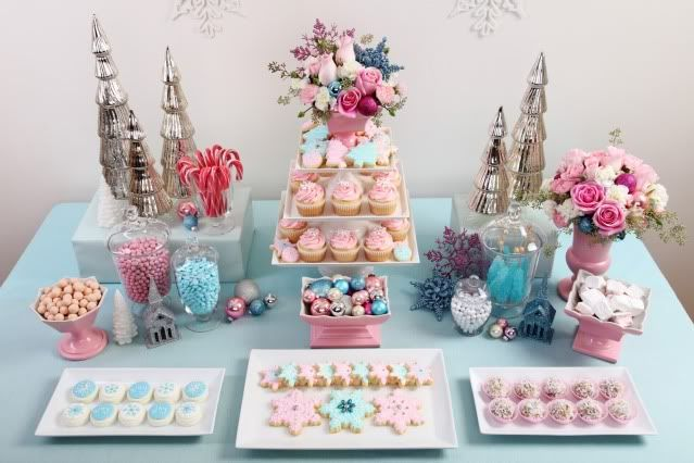 Pastel Christmas Party