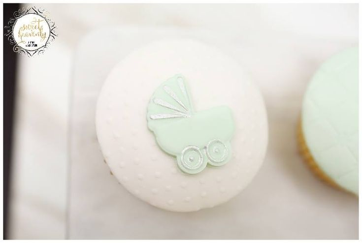 Heavenly styled baby shower