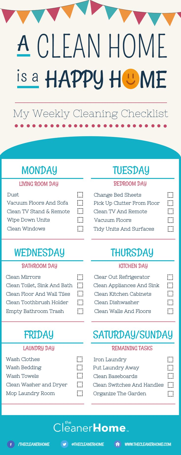 Delicate image pertaining to printable cleaning schedule