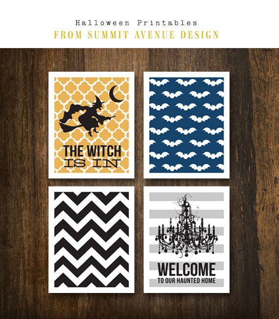 Includes four 5 x 7 printable designs in a Halloween theme. Files will come as a highly compatible .pdf format ans .jpg image files.      ****TOU***