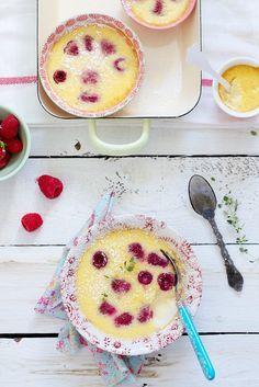 Vanillecreme mit Himbeeren | Zeit: 20 Min. | http://eatsmarter.de/rezepte/vanillecreme-27