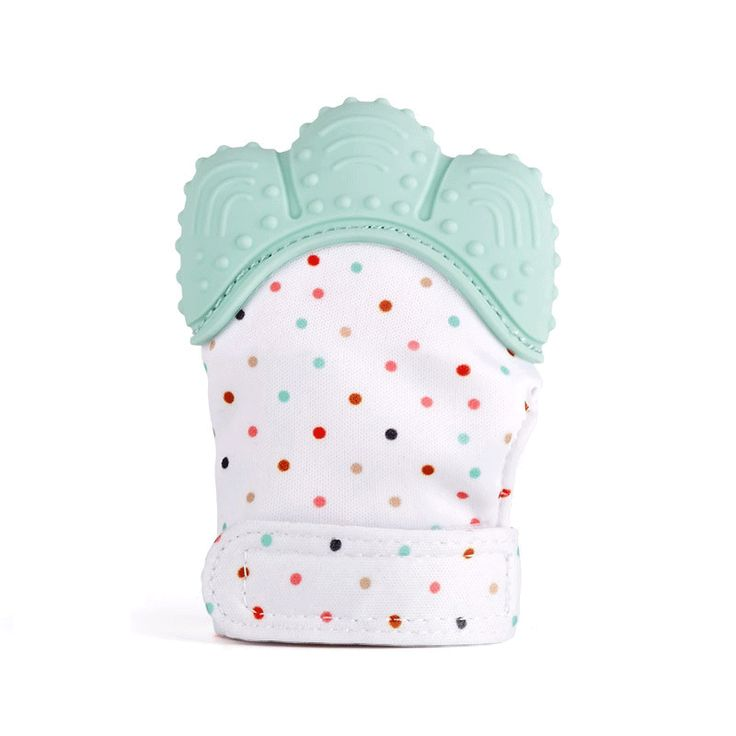<January's Offer! Click Image to Buy!> 1pcs Baby Teether BPA Free Pacifier Glove Teething Chewable Nursing Silicone Beads Newborn Finger Sucking Blue Pink Green ** Details on this piece can be viewed on  AliExpress.com. Just click the image