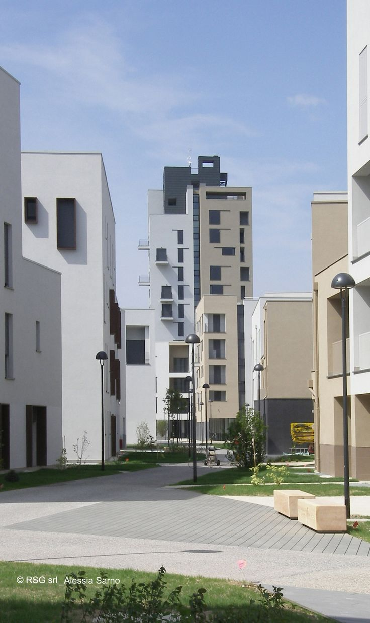 RSG Архитекторы / Engeneers, Энрико Джанни Алессия Сарно, Ренато Сарно · Figino. Il Borgo Sostenibile · Divisare