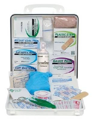 First Aid Kit Carry Box, Zee Medical #13030